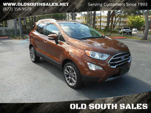 2019 Ford EcoSport for sale at OLD SOUTH SALES in Vero Beach FL