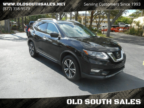 2017 Nissan Rogue for sale at OLD SOUTH SALES in Vero Beach FL