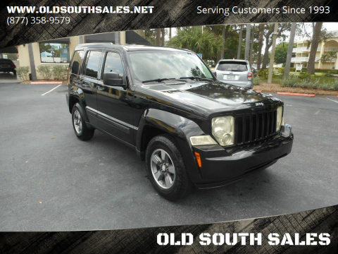 2008 Jeep Liberty for sale at OLD SOUTH SALES in Vero Beach FL