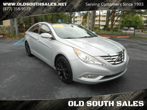 2012 Hyundai Sonata for sale at OLD SOUTH SALES in Vero Beach FL