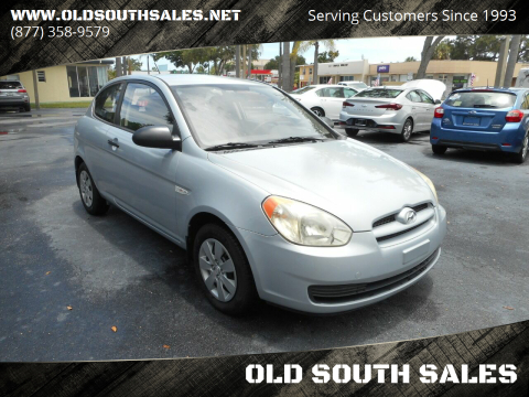 2008 Hyundai Accent for sale at OLD SOUTH SALES in Vero Beach FL