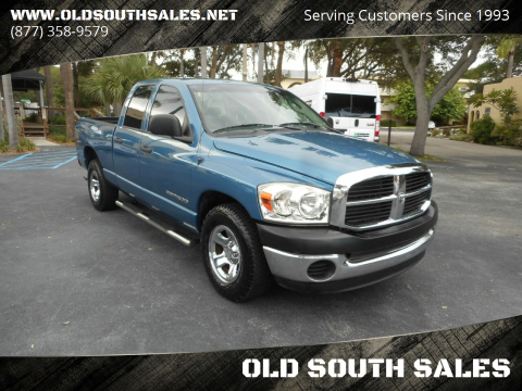 2006 Dodge Ram Pickup 1500 for sale at OLD SOUTH SALES in Vero Beach FL