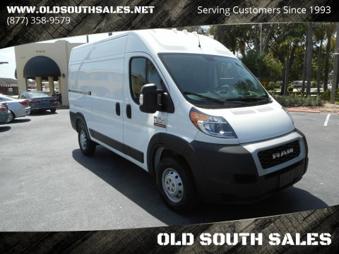 2020 RAM ProMaster Cargo for sale at OLD SOUTH SALES in Vero Beach FL