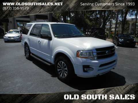 2016 Ford Expedition for sale at OLD SOUTH SALES in Vero Beach FL