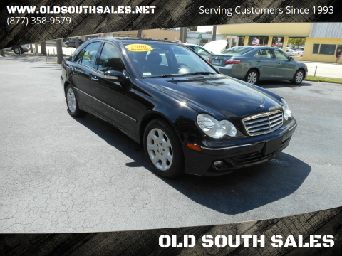 2006 Mercedes-Benz C-Class for sale at OLD SOUTH SALES in Vero Beach FL