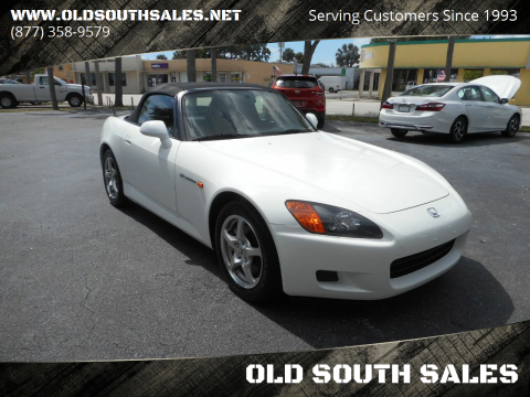 2003 Honda S2000 for sale at OLD SOUTH SALES in Vero Beach FL