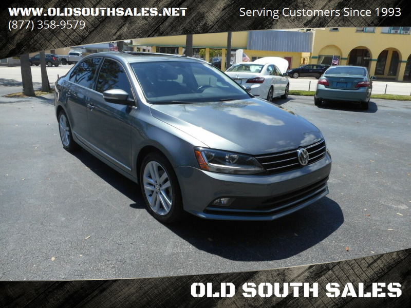 2017 Volkswagen Jetta for sale at OLD SOUTH SALES in Vero Beach FL