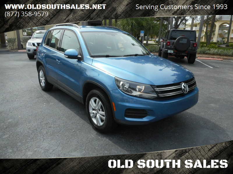 2017 Volkswagen Tiguan for sale at OLD SOUTH SALES in Vero Beach FL