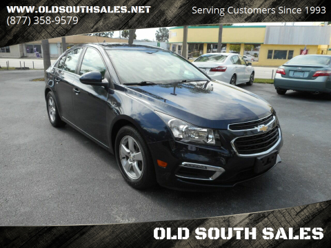 2016 Chevrolet Cruze Limited for sale at OLD SOUTH SALES in Vero Beach FL