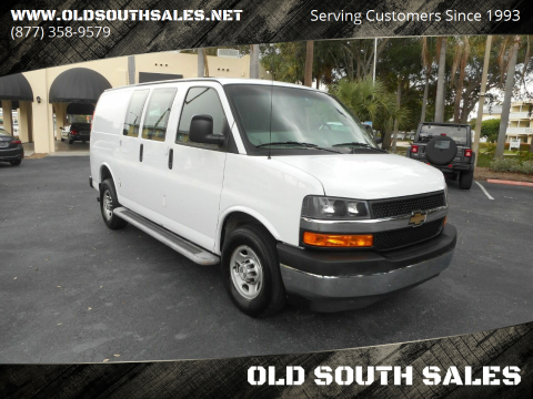 2019 Chevrolet Express Cargo for sale at OLD SOUTH SALES in Vero Beach FL