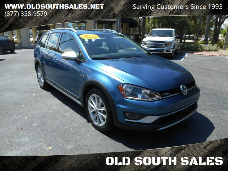 2017 Volkswagen Golf Alltrack for sale at OLD SOUTH SALES in Vero Beach FL