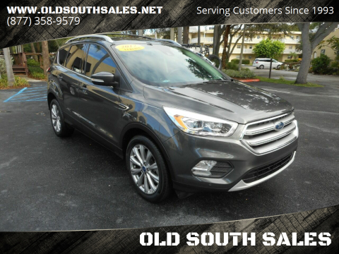 2017 Ford Escape for sale at OLD SOUTH SALES in Vero Beach FL
