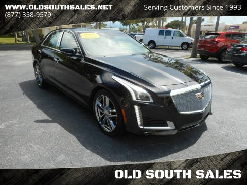 2015 Cadillac CTS for sale at OLD SOUTH SALES in Vero Beach FL