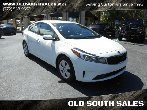 2018 Kia Forte for sale at OLD SOUTH SALES in Vero Beach FL