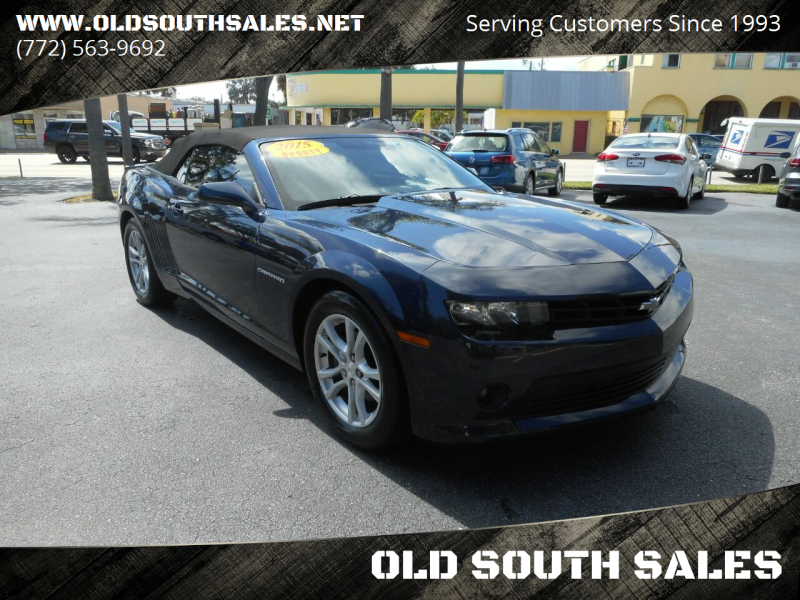2015 Chevrolet Camaro for sale at OLD SOUTH SALES in Vero Beach FL