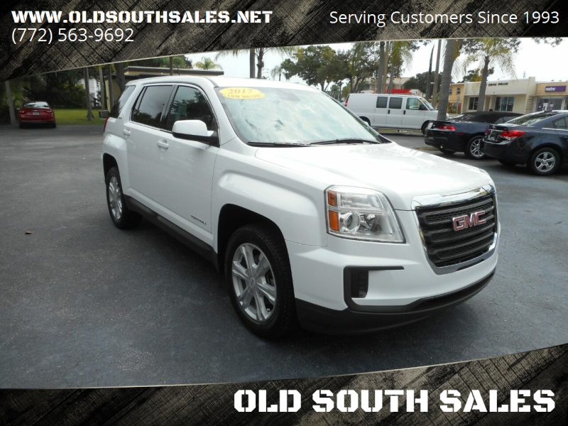 2017 GMC Terrain for sale at OLD SOUTH SALES in Vero Beach FL