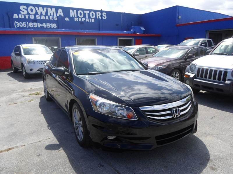 2011 Honda Accord Ex L V6 In Miami Fl Sowma Motors Inc