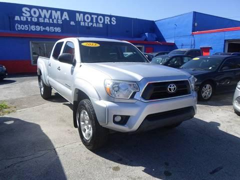 2013 Toyota Tacoma For Sale >> Toyota Tacoma For Sale In Miami Fl Sowma Motors Inc