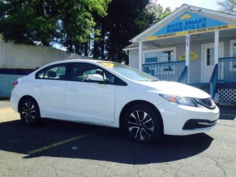 2013 Honda Civic for sale at Auto Smart Pineville Inc. in Pineville NC