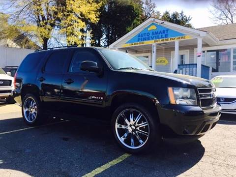 2008 Chevrolet Tahoe for sale at Auto Smart Pineville Inc. in Pineville NC