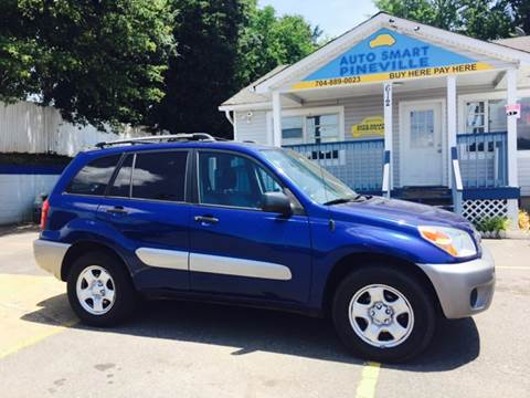 2004 Toyota RAV4 for sale at Auto Smart Pineville Inc. in Pineville NC