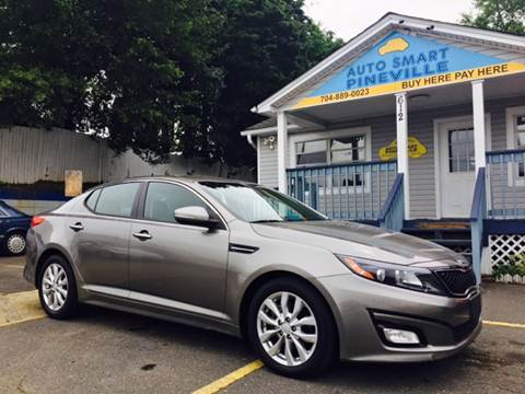 2015 Kia Optima for sale at Auto Smart Pineville Inc. in Pineville NC