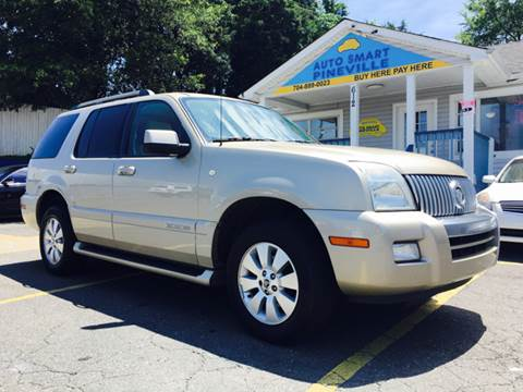 2007 Mercury Mountaineer for sale at Auto Smart Pineville Inc. in Pineville NC