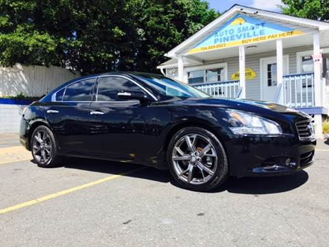 2013 Nissan Maxima for sale at Auto Smart Pineville Inc. in Pineville NC