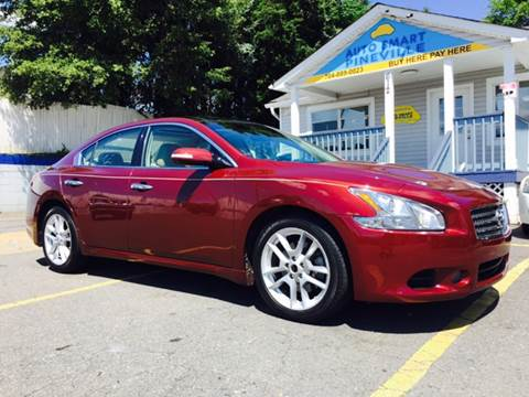 2010 Nissan Maxima for sale at Auto Smart Pineville Inc. in Pineville NC