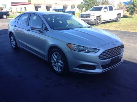 2016 Ford Fusion for sale in Plover, WI