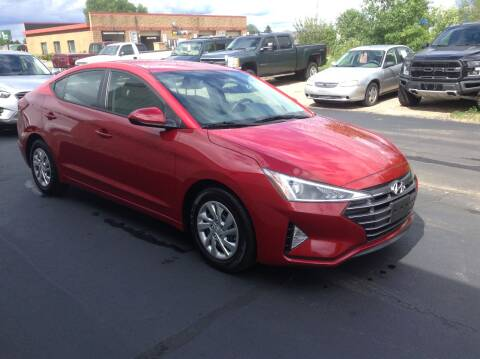 2019 Hyundai Elantra for sale at Bruns & Sons Auto in Plover WI