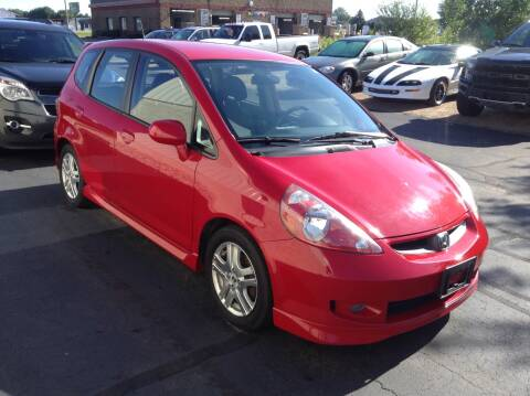 2007 Honda Fit for sale at Bruns & Sons Auto in Plover WI