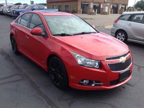 2012 Chevrolet Cruze for sale at Bruns & Sons Auto in Plover WI