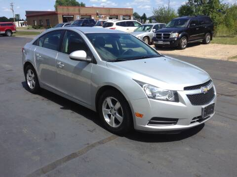 2013 Chevrolet Cruze for sale at Bruns & Sons Auto in Plover WI