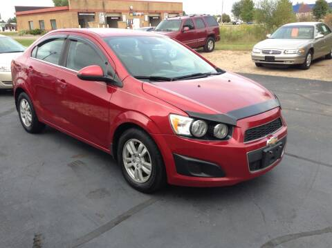 2014 Chevrolet Sonic for sale at Bruns & Sons Auto in Plover WI