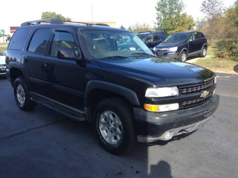 2004 Chevrolet Tahoe for sale at Bruns & Sons Auto in Plover WI