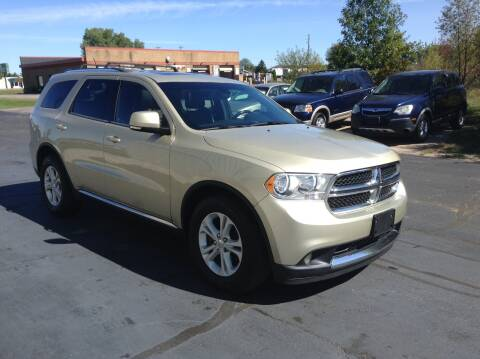2011 Dodge Durango for sale at Bruns & Sons Auto in Plover WI