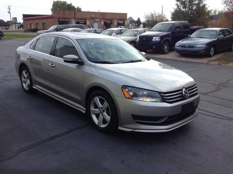 2013 Volkswagen Passat for sale at Bruns & Sons Auto in Plover WI