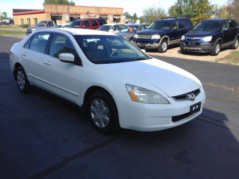 2003 Honda Accord for sale at Bruns & Sons Auto in Plover WI