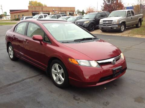 2007 Honda Civic for sale at Bruns & Sons Auto in Plover WI