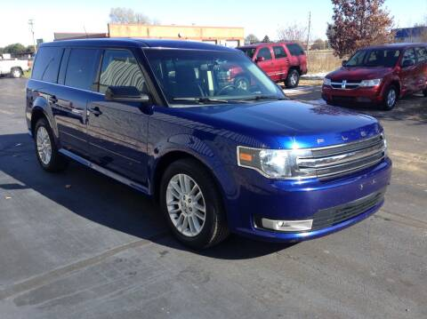 2013 Ford Flex for sale at Bruns & Sons Auto in Plover WI