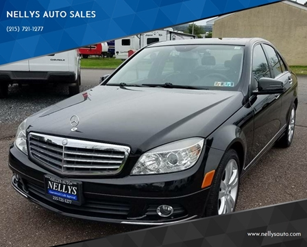 2010 Mercedes-Benz C-Class for sale at NELLYS AUTO SALES in Souderton PA