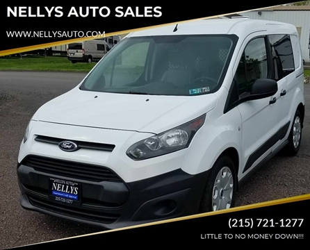 2014 Ford Transit Connect Cargo for sale at NELLYS AUTO SALES in Souderton PA
