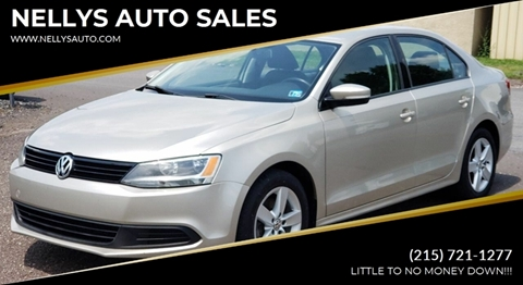 2012 Volkswagen Jetta for sale at NELLYS AUTO SALES in Souderton PA