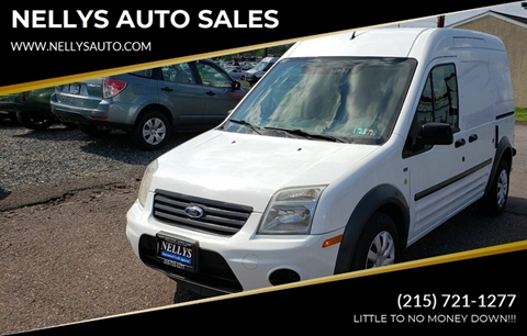 2011 Ford Transit Connect for sale at NELLYS AUTO SALES in Souderton PA
