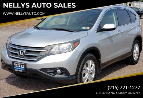 2012 Honda CR-V for sale at NELLYS AUTO SALES in Souderton PA
