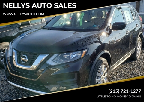 2017 Nissan Rogue for sale at NELLYS AUTO SALES in Souderton PA