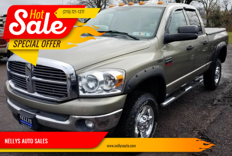 2008 Dodge Ram Pickup 2500 for sale at NELLYS AUTO SALES in Souderton PA