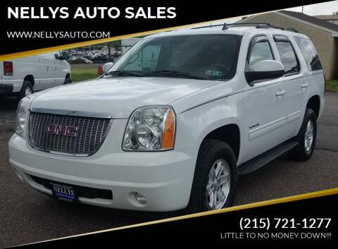 2011 GMC Yukon for sale at NELLYS AUTO SALES in Souderton PA