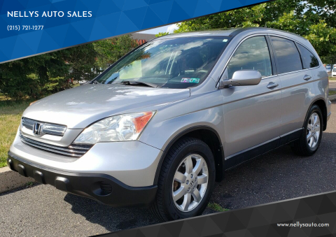 2007 Honda CR-V for sale at NELLYS AUTO SALES in Souderton PA